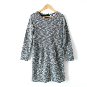Collective Concepts Gray Tweed Annie Dress Large